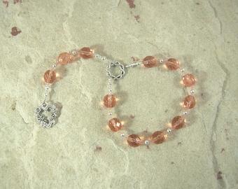 Sjofn Pocket Prayer Beads: Norse Goddess of Love, Companion of Frigga