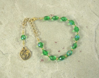 Gaia (Gaea) Prayer Bead Bracelet: Mother Earth, Mother of the Gods, Mother of All That Is.