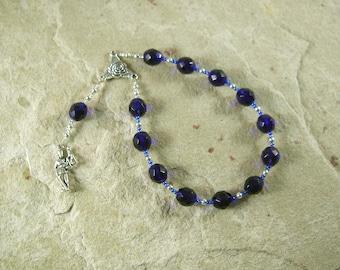 Dike (Justice) Pocket Prayer Beads: Greek Goddess of Justice