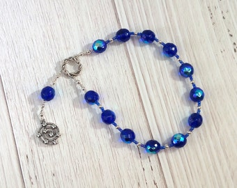 Urania Pocket Prayer Beads: Greek Muse of Astronomy, Patron of Philosophers