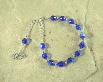 Eirene Prayer Bead Bracelet: Greek Goddess of Peace