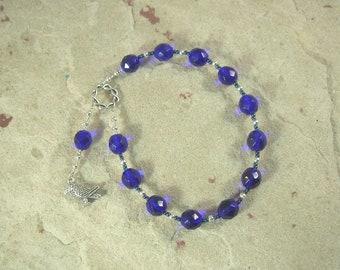 Coronis Pocket Prayer Beads: Greek Goddess and Heroine, Mother of Asklepios