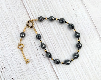 Hekate Pocket Prayer Beads: Greek Goddess of Magic and Witchcraft, Night and the Darkness, and Protection of the Home and Women