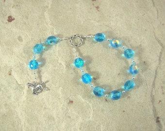 Gna Pocket Prayer Beads: Norse Messenger Goddess, Companion of Frigga
