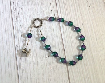 Thaleia Pocket Prayer Beads: Greek Goddess, Grace (Charis, Kharis) of Feasts and Festivals