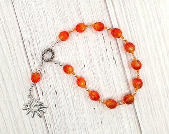 Eos Pocket Prayer Beads: Greek Goddess of the Dawn