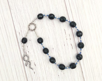 Asklepios (Asclepios) Pocket Prayer Beads: Greek God of Healing and Health, Patron of Physicians and Health Professionals, Son of Apollo