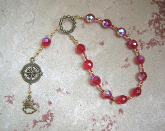 Notos Pocket Prayer Beads: Greek God of the South Wind, God of Summer
