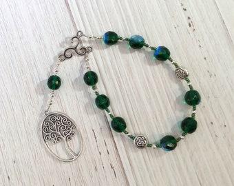 Nemetona Pocket Prayer Beads: Gaulish Celtic Goddess of the Sacred Grove