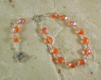 Vesta Pocket Prayer Beads: Roman Goddess of the Hearthfire