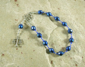 Themis Pocket Prayer Beads: Greek Goddess of Universal Law and Justice, Mother of the Seasons or Hours (Horai)