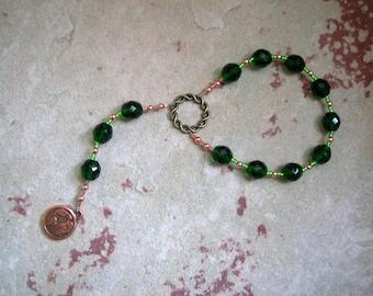 Nerthus Pocket Prayer Beads: Norse Goddess of Abundance and   Fertility