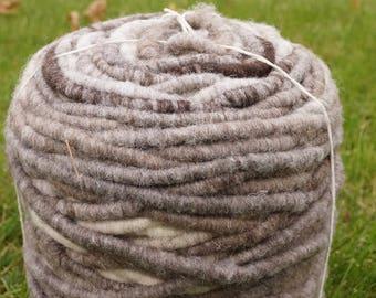 Jacob Corespun yarn • chunky • heritage breed sheep • natural colors