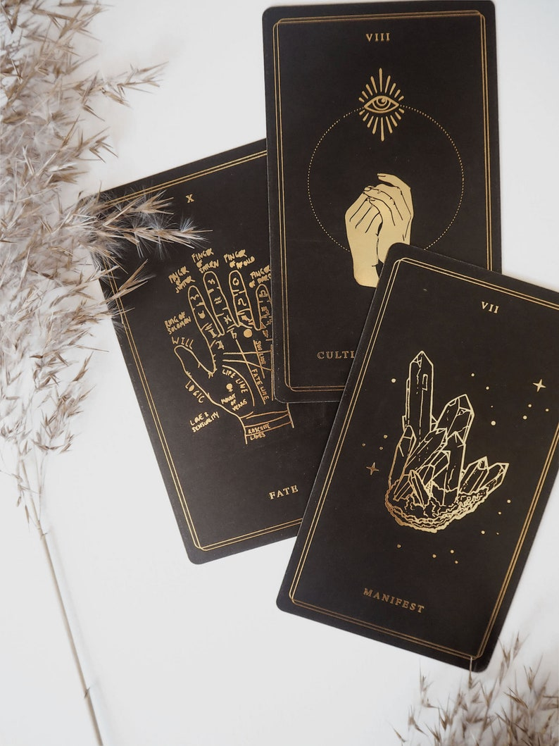 GOLD EDITION  Child Of The Universe Oracle Deck & Book Set  image 0