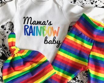 9ab5828fb Rainbow Baby Hat, Knot Hat, Newborn Hat, Infant Hat, Personalized Hat, Rainbow  Baby, Rainbow Outfit, Rainbow Baby Outfit, Rainbow Baby