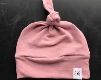 3a55de6319f Baby boy knot hat