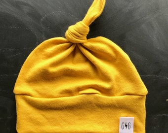Yellow baby hat  03290cc5a6a