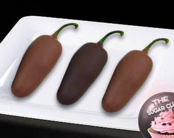 Edible Gift, Food Gift, Jalapeno Pepper, Client Gift Box, Spicy Chocolate, Foodie Gift, Sweet And Spicy, Hot Pepper, Spicy Food, Chili