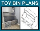 Wood toy chest I Wood storage I toy storage I wood toy bin I storage solution I farmhouse toy bin I farmhouse storage I decor