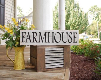 Farmhouse pallet sign. Farmhouse, rustic home decor, rustic wood signs, farmhouse sign, housewarming gift, rustic, pallet signs, home decor.