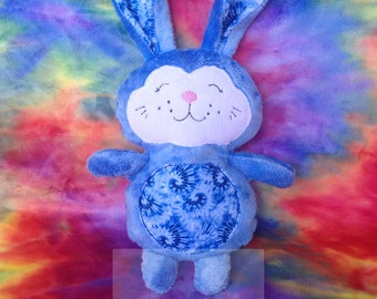 Super Soft Cuddle Bunny Minky plushie, stuffie, plush, plush animal, stuffed animal