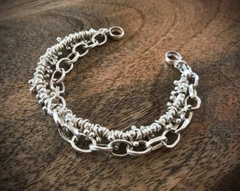 bracelet Karen Hill Tribe 925 sterling silver