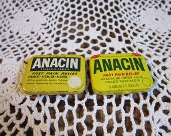 Anacin | Etsy