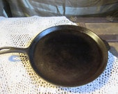Wagner Ware Cast Iron Griddle 11 quot Vintage 1950 39 s Frying Pan Grill Cheese French Toast Cookware Bake Ware Seasoned Kitchen Collectible