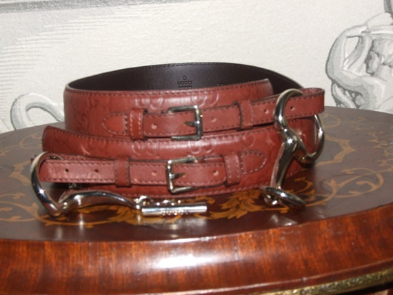 GUCCI Authentic Vintage Belt/ GUCCI Made in Italy,