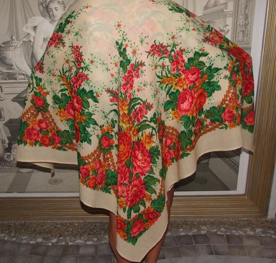 FABULOUS! Polish Folk Vintage c.80s Colorful Flora