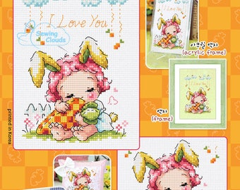 Honey Bunny Counted cross stitch chart SODAstitch SO-4151