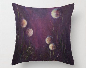Purple pillow Eggplant Faux down insert INCLUDED purple Sofa pillow  Decorative pillow Throw pillows Bed pillows Throw cushions Bedroom decor 9ba5c2d7ea