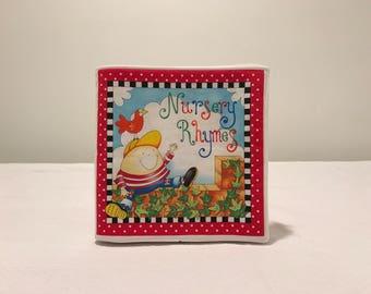 New Fabric Book NURSERY RHYMES