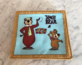 Yogi Bear Fabric Book FREE SHIPPING!