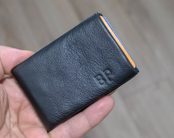 Best Minimalist Wallet, Leather Wallet, Slim Wallet, Mens Wallet, Womens Wallet, Handmade Gift Idea, RFID Wallet