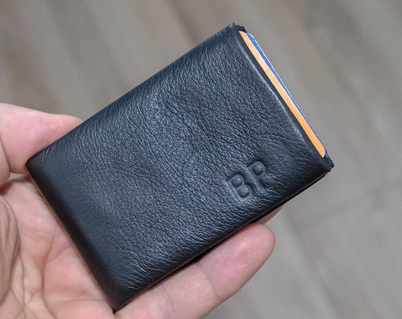 Personalized leather Wallet, Personalized wallet, personalized mens wallet, leather wallet, mens leather wallet, RFID Wallet