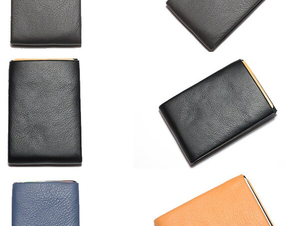 Best Minimalist Wallet, Mens Wallet, Leather Wallet, RFID Wallet - Original NERO Wallet