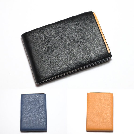 Mens Wallet,  Minimalist Wallet, Leather Wallet, Slim Wallet, Womens Wallet, Handmade Gift Idea, RFID Wallet