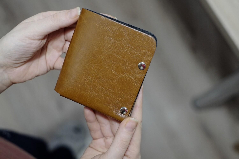 Nero Bifold Wallet Mens Wallet Minimalist Wallet Leather
