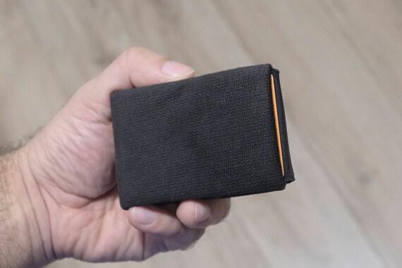 Vegan Wallet, Design Fabric Mens Wallet, Minimalist Wallet, Design Fabric Womens Wallet Slim Wallet - RFID Blocking Wallet - Limited Edition