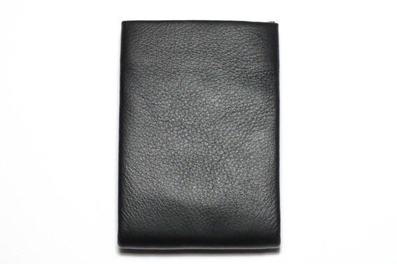 Best Minimalist Wallet, Leather Wallet, RFID Wallet - Original NERO Wallet - Black