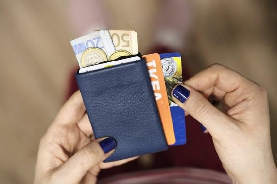 Best Minimalist Wallet, Slim Wallet, RFID Wallet, Mens Wallet - Original Nero RFID Protection Wallet