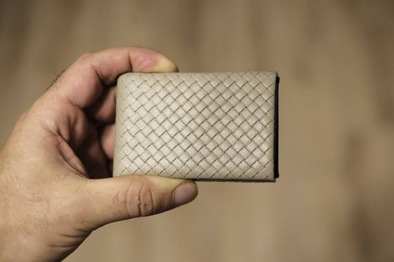 03 Design Leather Wallet, Groomsman Gift, Mens Wallet, Minimalist Wallet, Leather Wallet, RFID Wallet