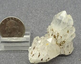 Candle Quartz crystal cluster, Madagascar  - Mineral Specimen for Sale