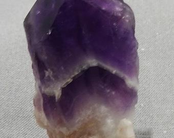 Chevron Amethyst Crystal, Brazil - Mineral Specimen for Sale
