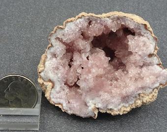 Pink Amethyst Geode, Argentina - Mineral Specimen for Sale