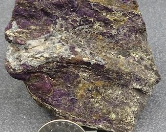 Large Purpurite specimen, Namibia - Mineral Specimen for Sale