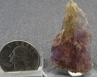 Super 7 Quartz polished slice, Brazil  Mineral Specimen for Sale