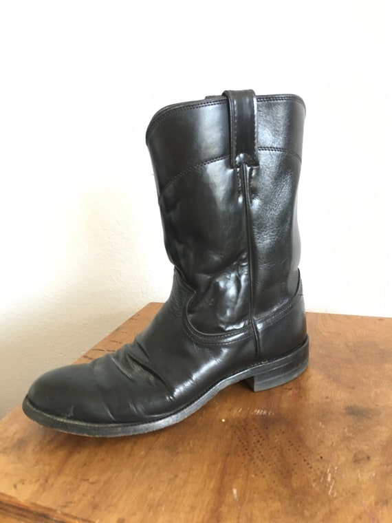Justin Western Boots Amazing Condition