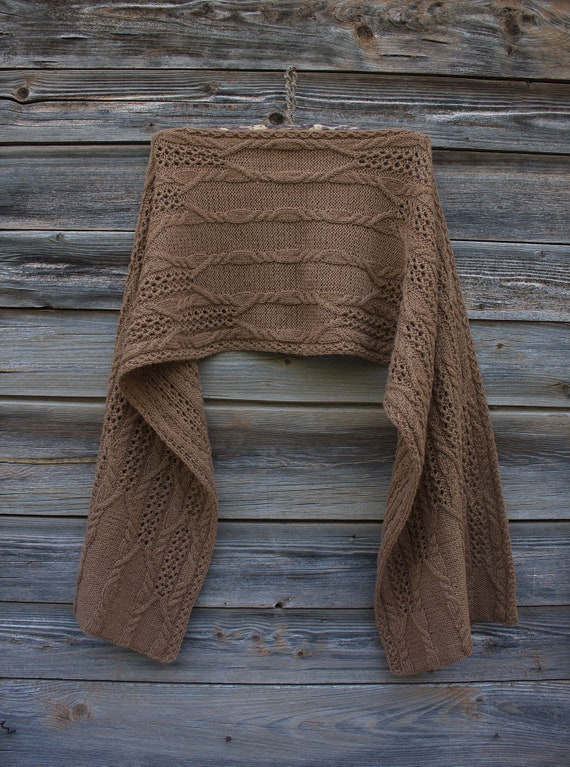 Camel Scarf Soft Warm Undercoat of Camel Handmade Knitted   Etsy ab212c8f69f